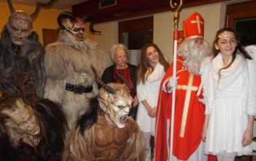 La tradizione natalizia di San Nicola e i Krampus